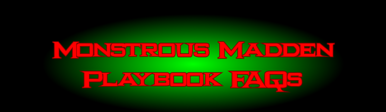 monstrous madden playbook home monstrous madden playbook forums